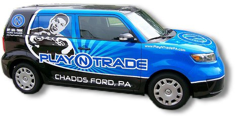 PNT Vehicle Wrap