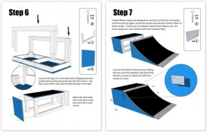 Ramp assembly instructions