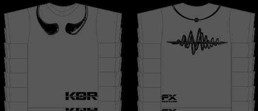 KOR-fx t-shirt design