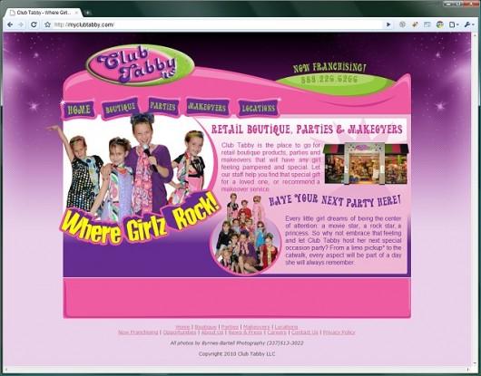Club Tabby website
