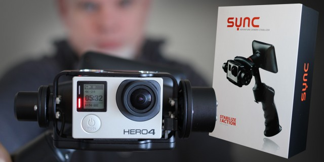 Unboxing the new gyroscopic Sync Adventure Stabilizer for the GoPro
